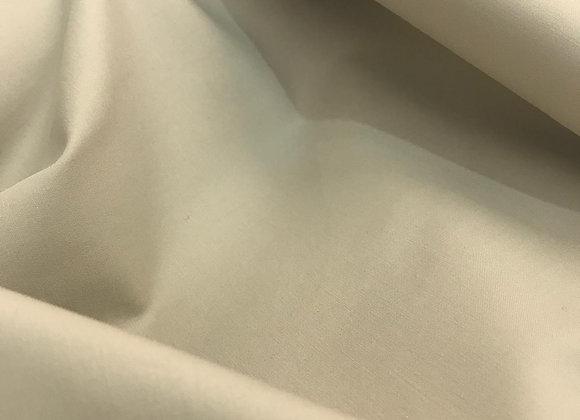 Raso di cotone beige