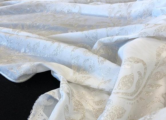 Tenda Giglio fiorentino beige antichizzato