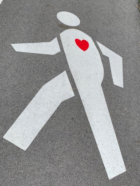 Walking Hearts