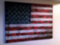 """Americana"" Spray paint on canvas by Jesse Ransome"