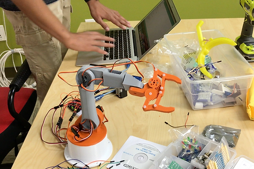 Build A Robotic Arm With Arduino and Raspberry Pi- Part 1