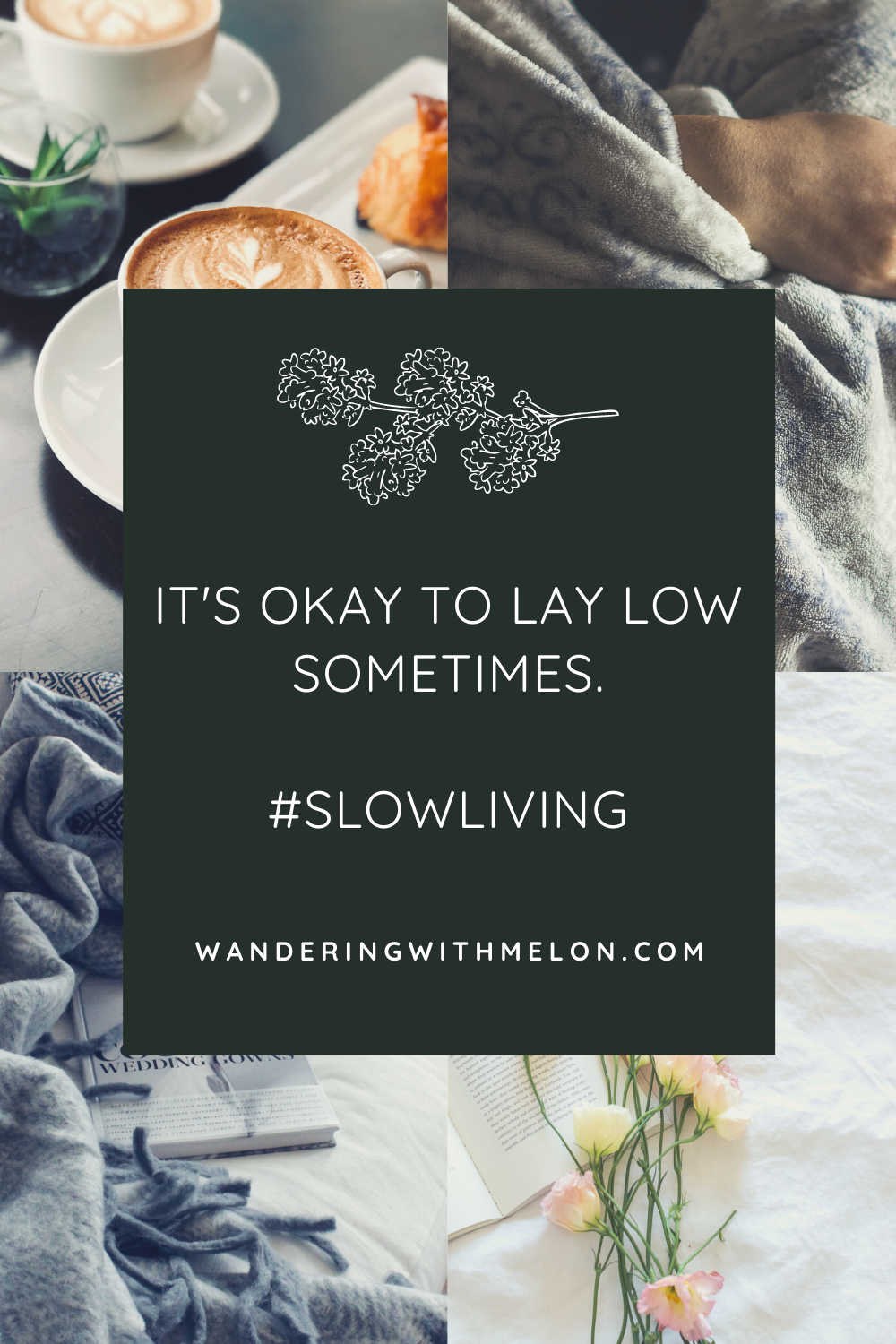 the art of laying low