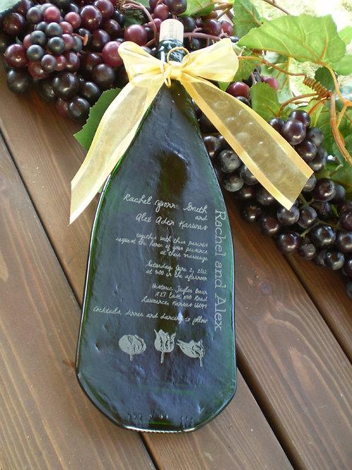Wine Wedding Bottle