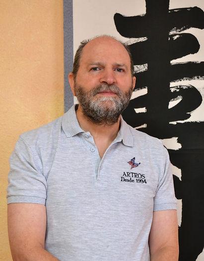 Jesus Tapia Hernandez. Masajista