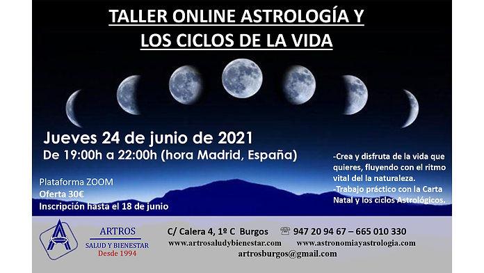CICLOS DE LA VIDA ASTROLOGÍA 2021 JUNIO_