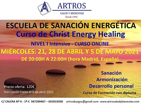 Curso Christ Energy I ABRIL 2021 online_