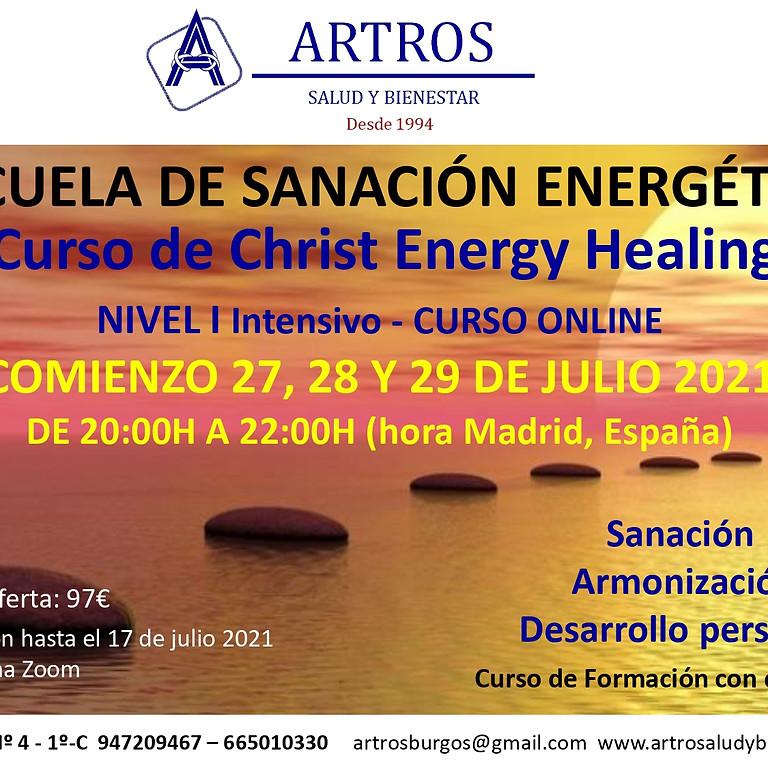 Curso Online de Christ Energy Healing Nivel I