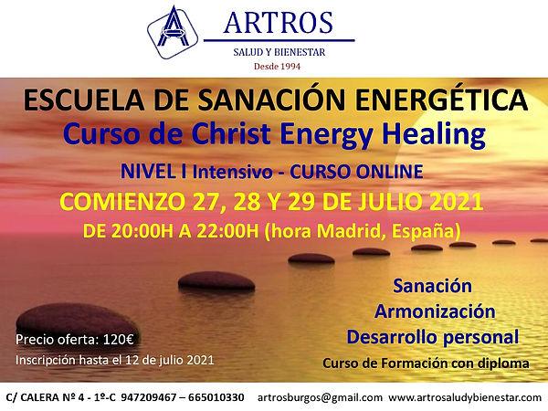 Curso Christ Energy I Julio 2021 online_