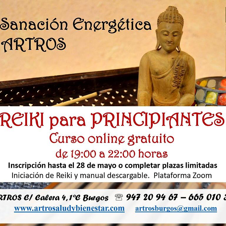 Curso Online gratuito Reiki para principiantes