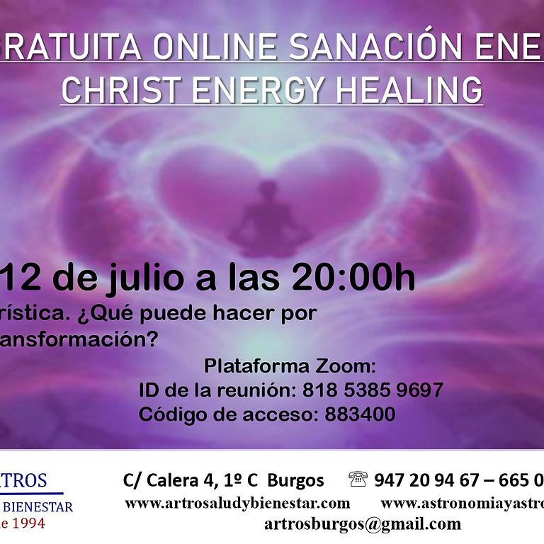 Clase Online gratuita Sanación Energética. Christ Energy Healing