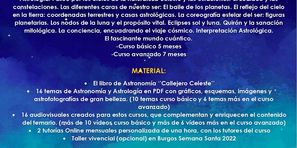 Curso Online Astronomía y Astrología
