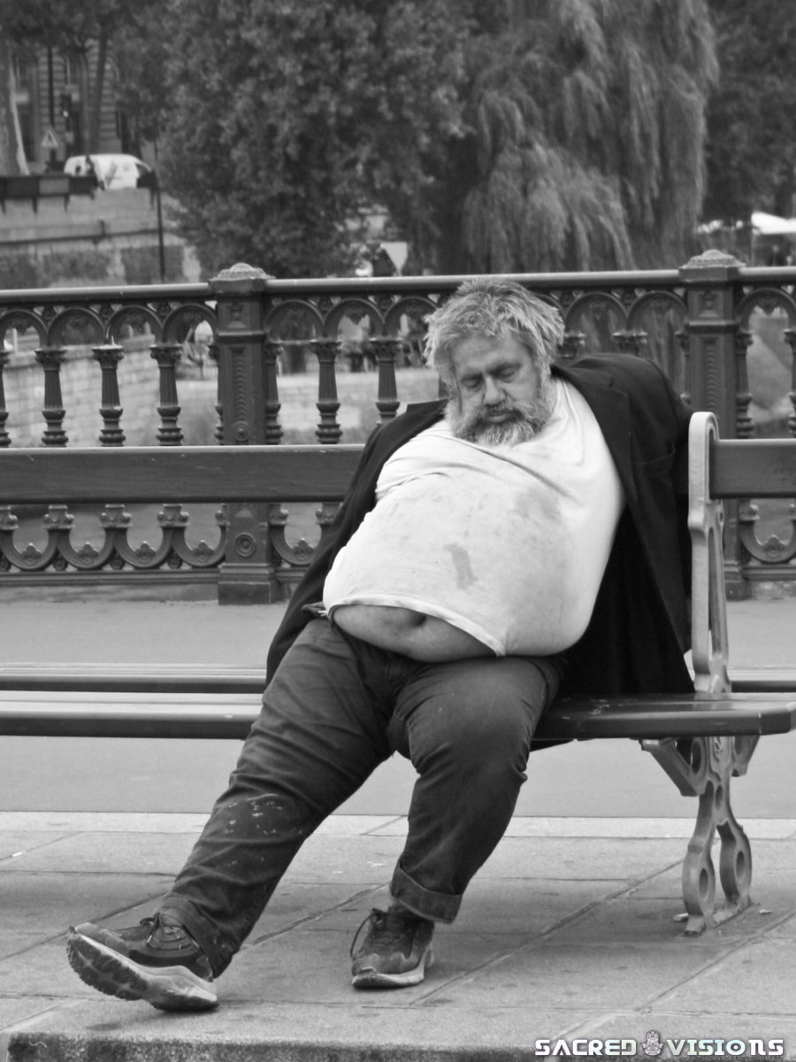 Paris and homeless