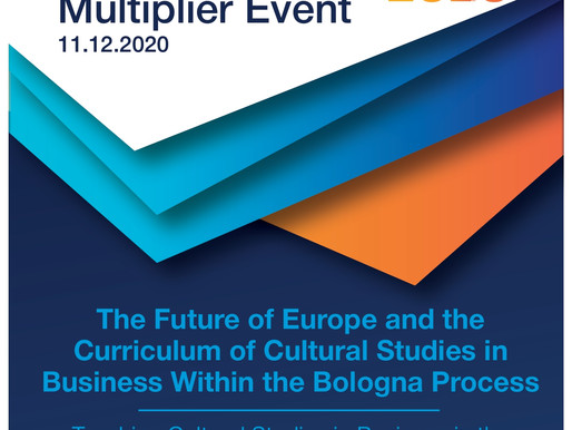 2nd M.E. by Eurocollege. The Future of Europe and the CSB Curriculum within the Bologna Process