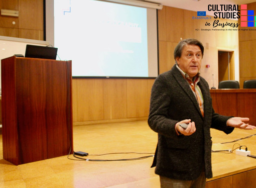 Psychogeography and cultural studies - CSB speech by prof. Ljubisha Petrushevski in Covilhã (PT)