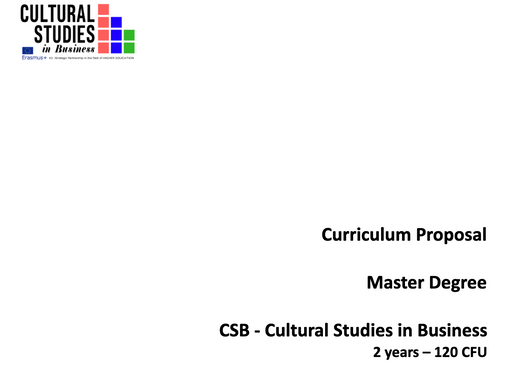 This week will be another important week for the Cultural Studies in Business Project