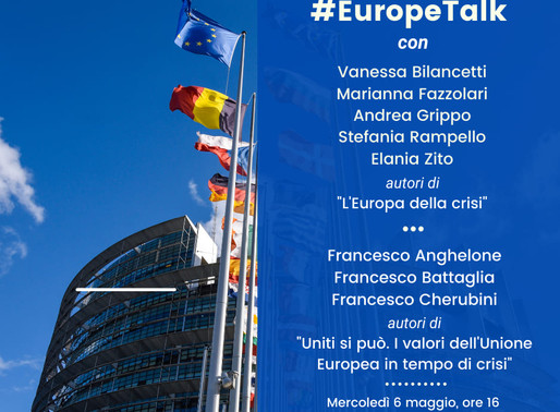 CSB Project and the Europe Day - La Sapienza celebrates with a #Europetalk online event
