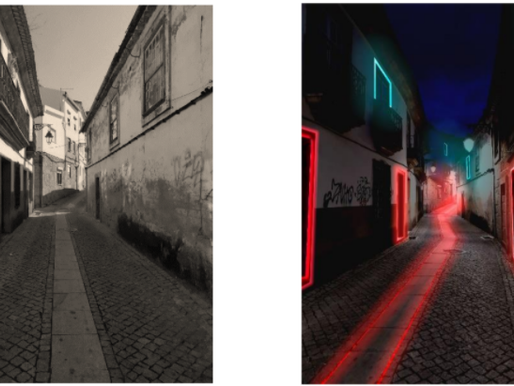 Street dynamization for an engagement in Cultural Business  - work by Tiago Santos - UBI (Portugal)