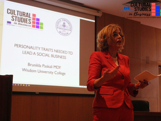 Personality traits needed to lead a Social Business. A contribution by Wisdom university to CSB