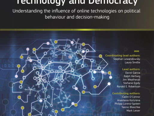 Technology and Democracy: Understanding the influence of online technologies on political behaviour