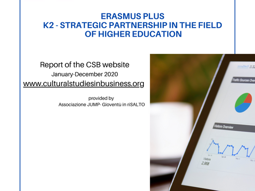 Now online the Report of the CSB website for the period January-December 2020!