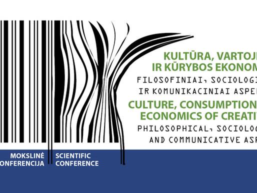 11/02 Multiplier Event in Vilnius. CULTURE, CONSUMPTION AND ECONOMICS OF CREATIVITY