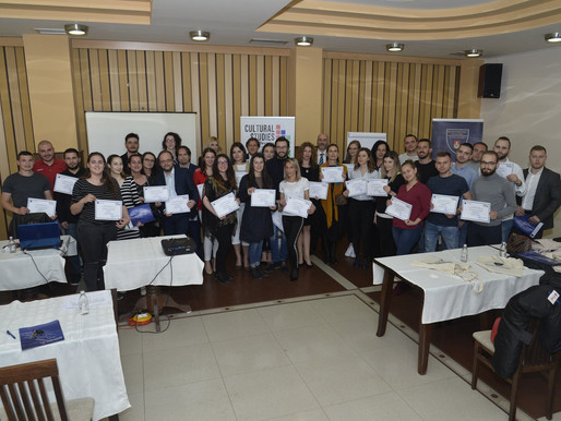 Realised on 11/04 the 2nd Multiplier Event in Kumanovo