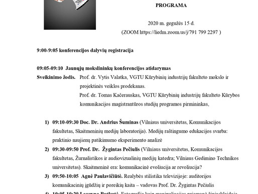 2nd M.E. organized by VGTU of Vilnius for the CSB project