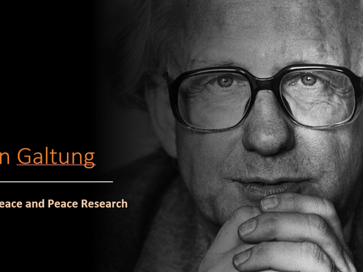 Johan Galtung.Violence Peace and Peace Research - The presentation by Sapienza students