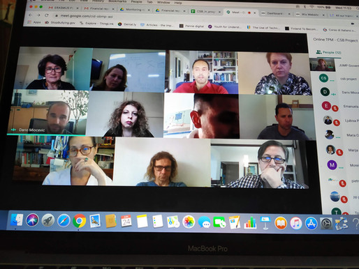 Decision taking, actions making. The report of another online Team Leaders meeting