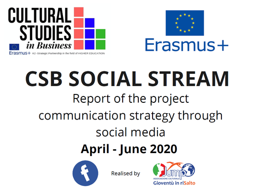 CSB Social Media Stream - the 2nd report (April-May-June 2020) is online!