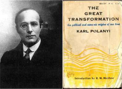 "The history of economic thought: Critical perspectives. ""The great transformation"" - Karl Polanyi"