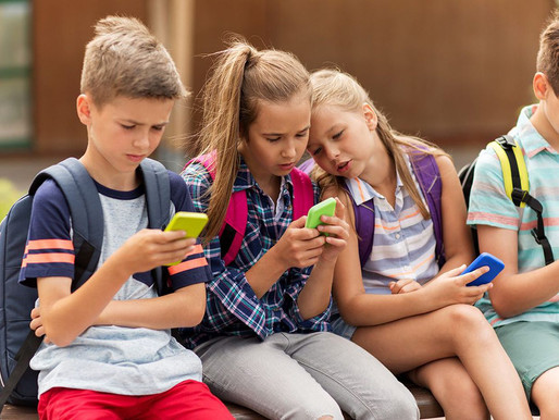 The harm of smart technologies to children. The work by lithuanian students for the CSB project