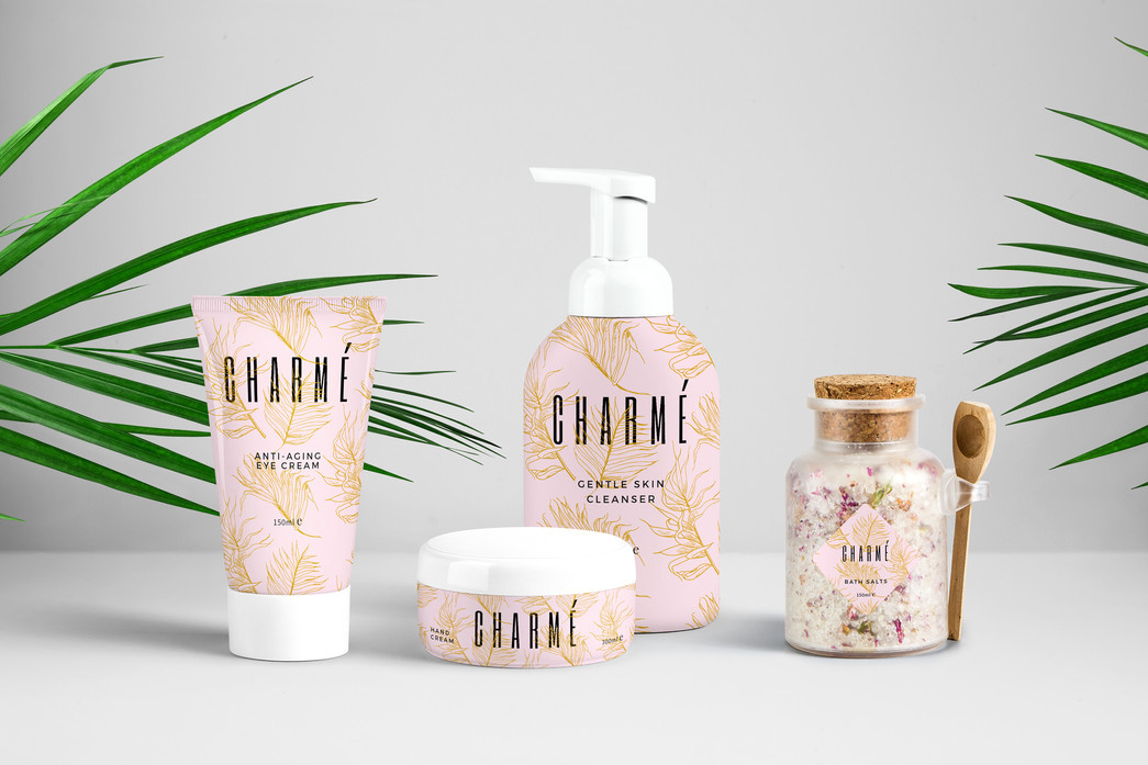 Charmé Skin Care Packaging