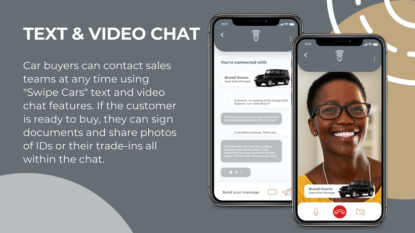 text and video chat