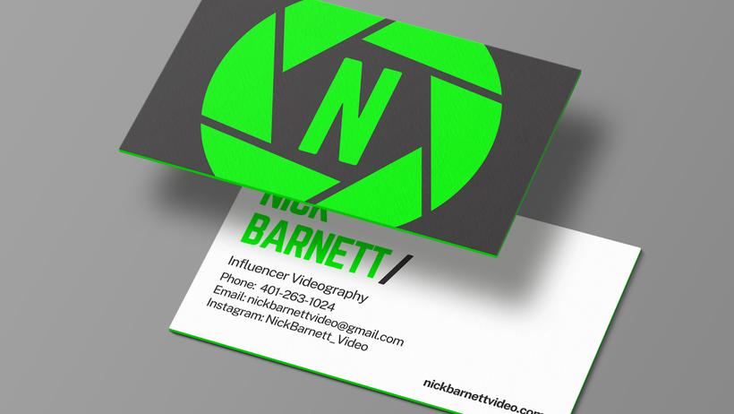nick barnett business cards
