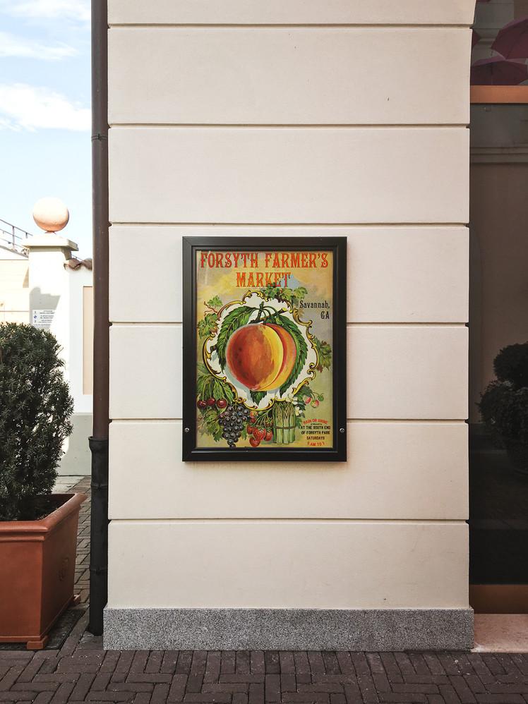 Forsyth Farmer's Market Poster
