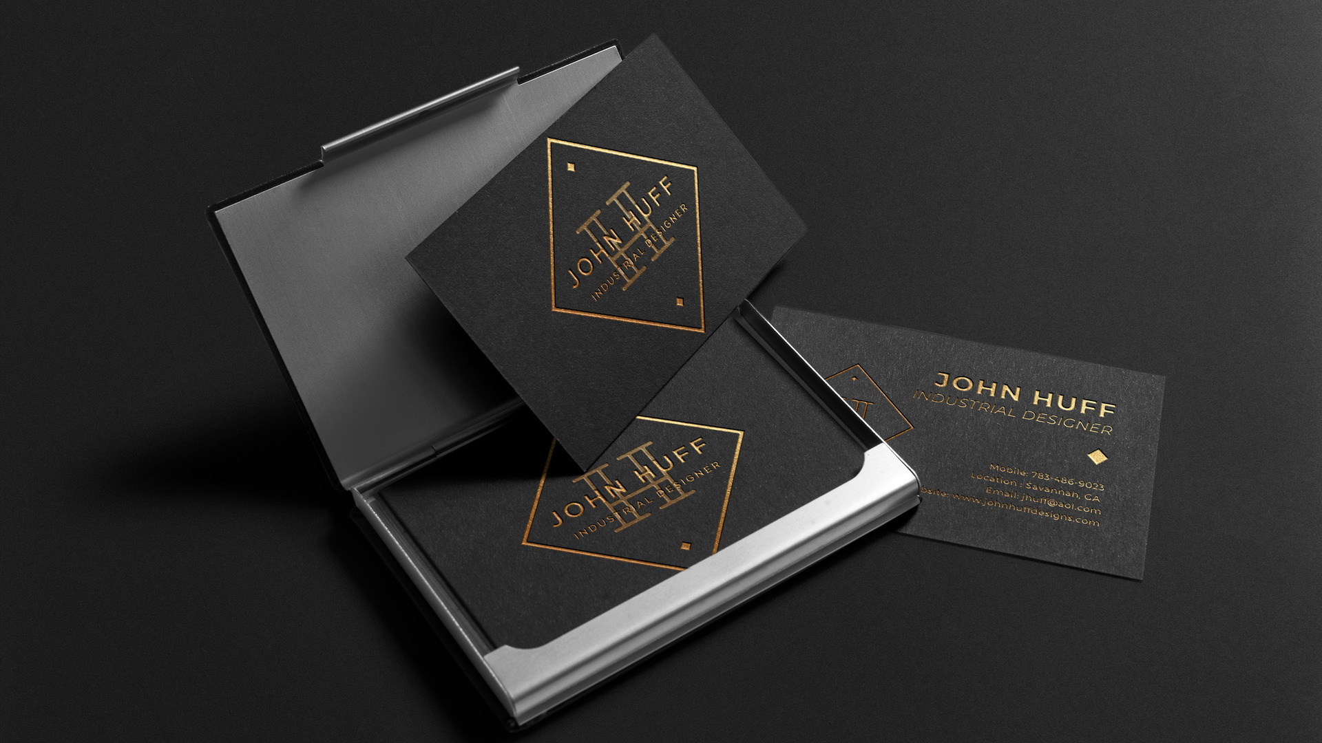 John Huff Business Card