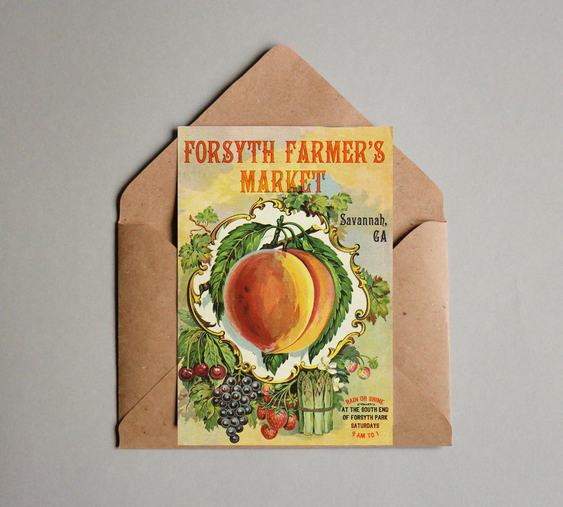 Forsyth Farmer's Market Invitation