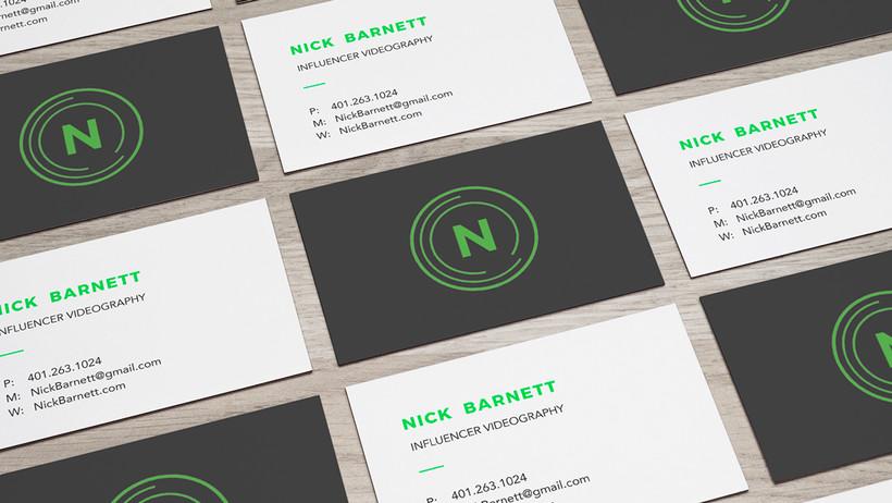 nick barnett business card