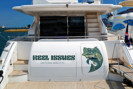 Reel Issues Boat Lettering & Decal