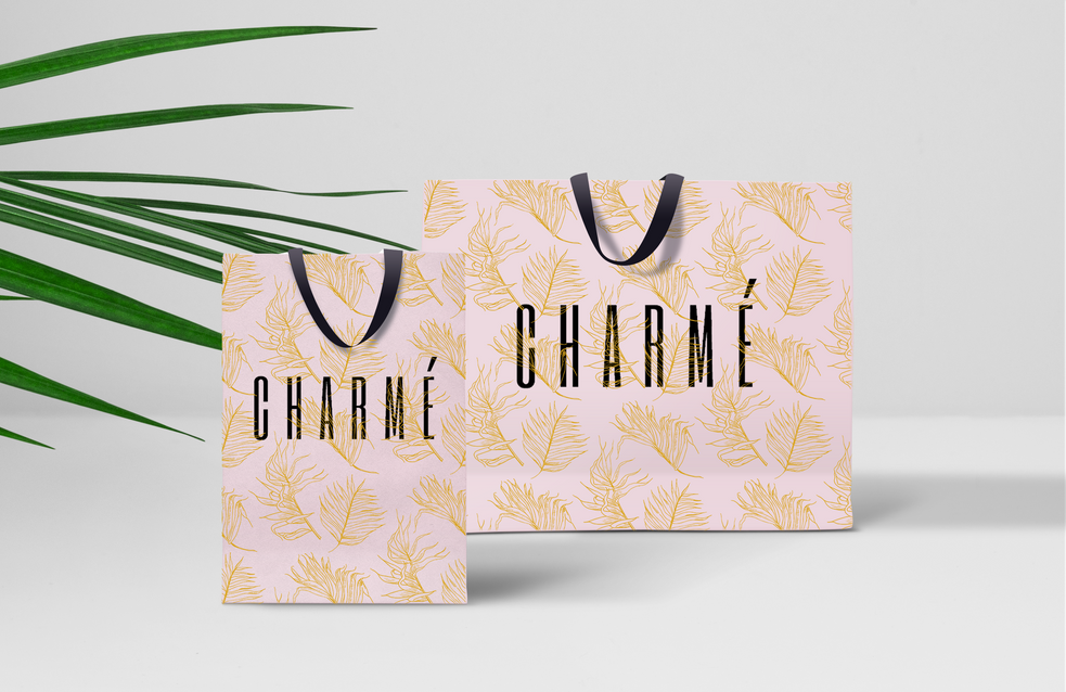 Charmé Skin Care Shopping Bag