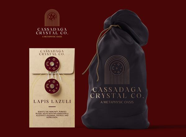 Cassadaga Crystal Co. Shopping Pouch