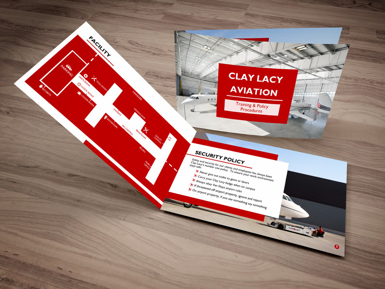 Clay Lacy Training Presentation Booklet