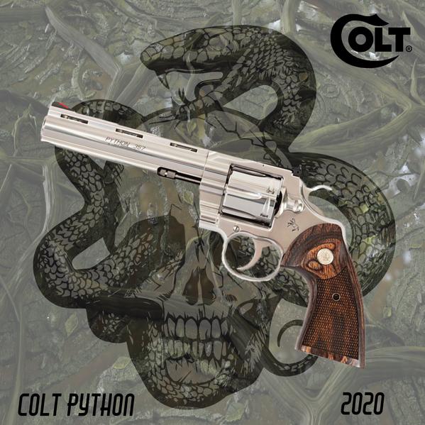 Gun Club Python Instagram Ad