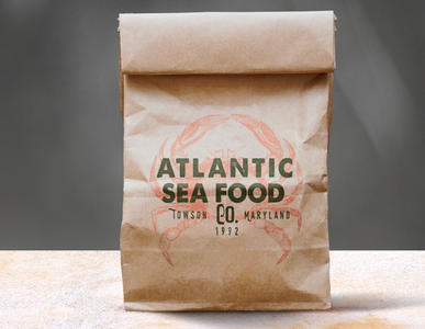 atlanitc sea food to-go bag