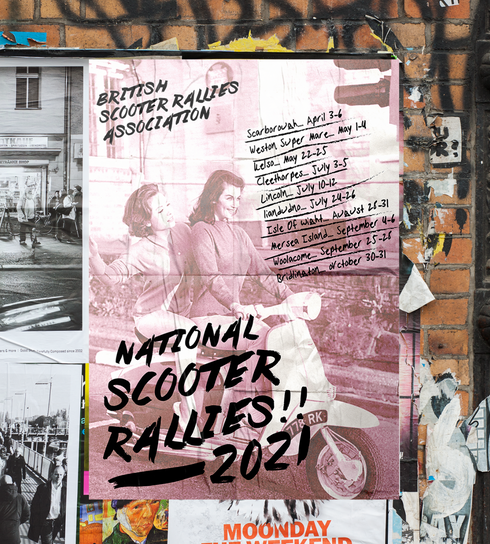 National Scooter Rallies Poster