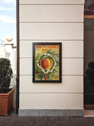 market poster display