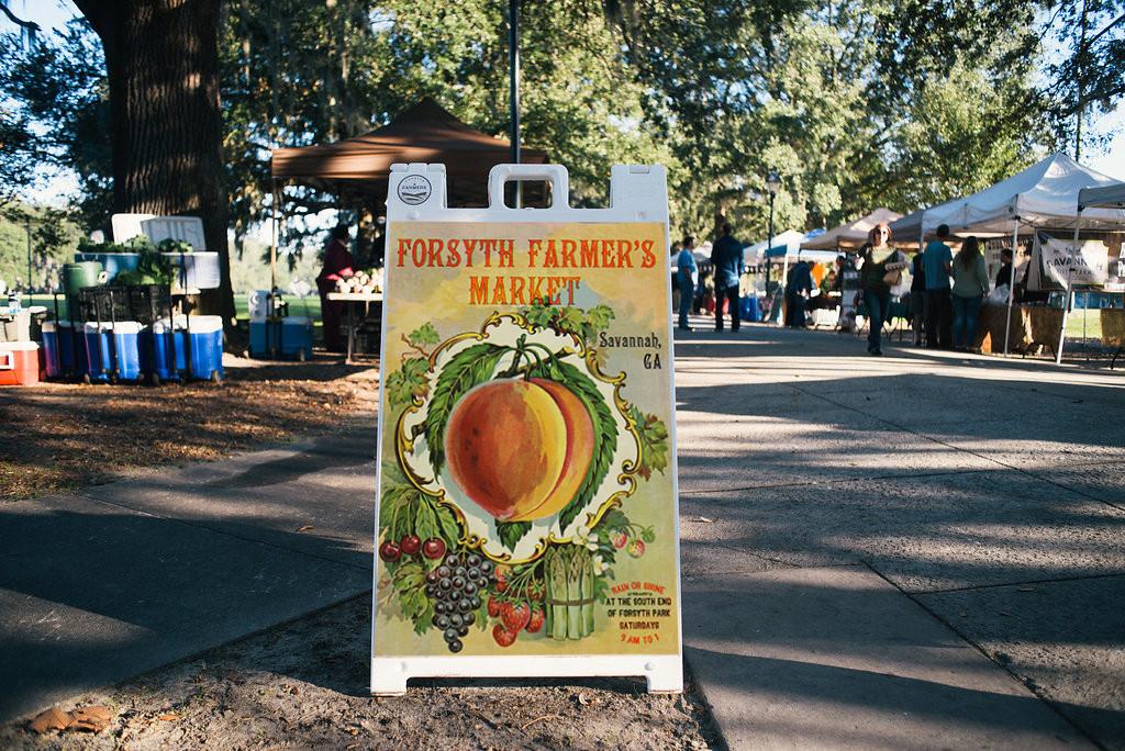 Forsyth Farmer's Market Signage