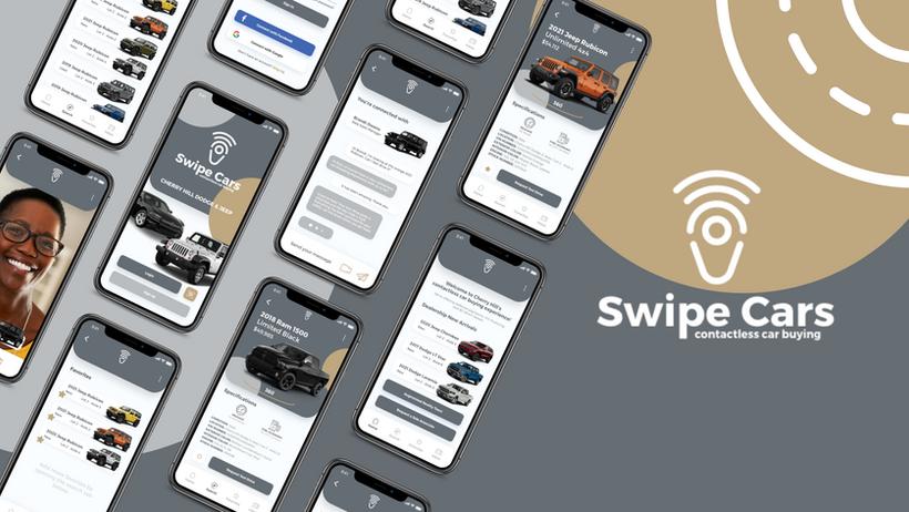 """swipe cars"" layout"