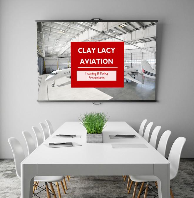 Clay Lacy Training Presentation Slide